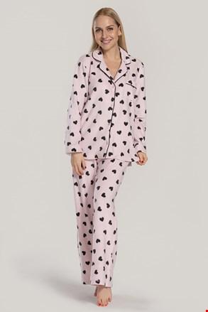 Ženska pižama DKNY Festive Beat, roza