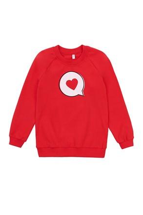 Dekliški pulover Love