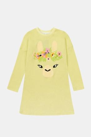 Dekliška spalna srajca Lama