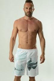 Moške kratke kopalne hlače GERONIMO Cyprinus bele