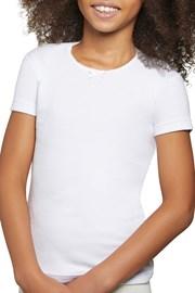 Dekliška bombažna majica Simple