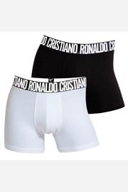 2 kosa moških boksaric CR7 CRISTIANO RONALDO Black White