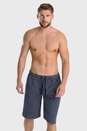 Modre kratke pižama hlače Enzo