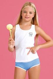 Dekliški komplet hlačke in spodnja majica Bamboline I