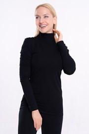 Ženska majica Lunga z visokim ovratnikom