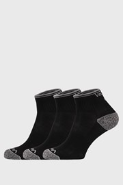 Trojno pakiranje športnih nogavic Ray, črne barve