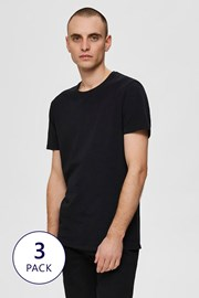 3 PACK majic Selected Homme New Pima