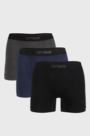 3 PACK boksaric Seamless Trunk I