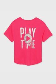 Roza dekliška majica Mayoral Playtime