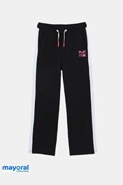 Črne dekliške hlače za telovadbo Mayoral  Playtime