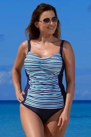 Ženski tankini Adelia blue protetični, po ablaciji prsi
