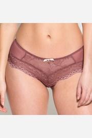Francoske hlačke Gossard Superboost Lace, rožnate