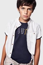 Temnomodra deška majica Youth Mayoral