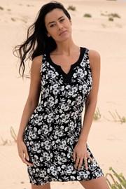 Obleka za na plažo Flowery