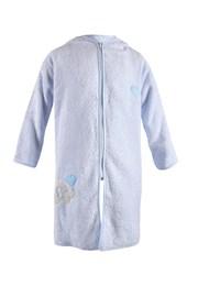 Otroški kopalni plašč Blue Kids - modri slon