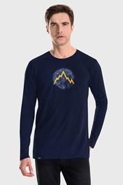 Modra majica LOAP Albert