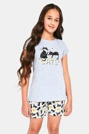 Dekliška pižama Cats