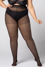 Hlačne nogavice Plus Size Margaret 20 DEN