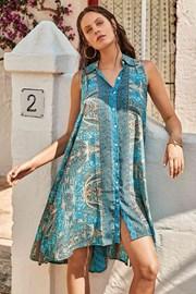 Obleka za na plažo Azure