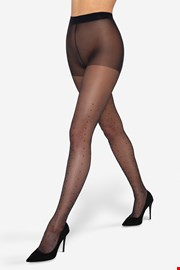 Hlačne nogavice Dotsy 20 DEN s pikami