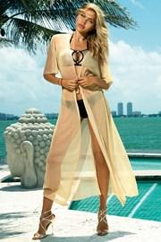 Obleka za na plažo Glamour gold