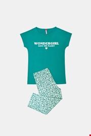 Zelena dekliška pižama Save planet
