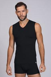 Črna majica brez rokavov