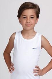 Bela deška spodnja majica basic