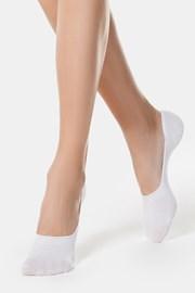 Ženske bombažne slip on nogavice