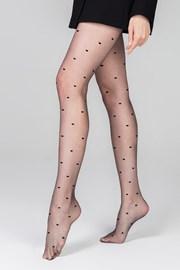 Ženske hlačne nogavice Heartbeat 13 DEN