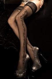 Razkošne samostoječe nogavice HushHush 285