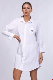 Ženska spalna srajca Ralph Lauren, bela