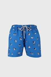 Modre kratke kopalne hlače Bulldog
