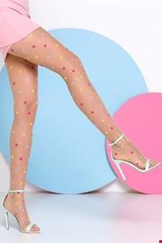 Ženske hlačne nogavice s pikami Joy 20 DEN