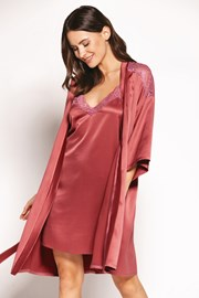 Elegantna satenasta halja Lilly