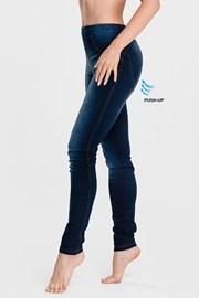 Ženske legice Maddie v videzu džinsa