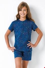 Dekliška modra pižama Samorog II