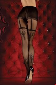 Prestižne hlačne nogavice Red Intense 347