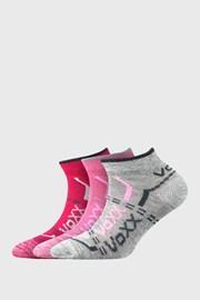 3 PACK dekliške nizke nogavice VOXX