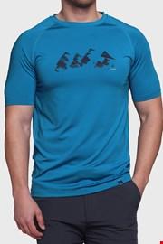 Modra majica Loap Meneto