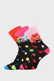 3 PACK dekliške nogavice Vesoljčki
