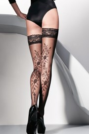 Ženske samostoječe nogavice Vera 20 DEN