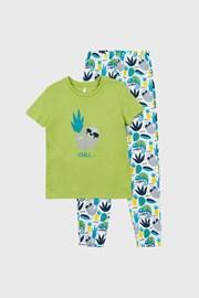 Otroška pižama Lenochod
