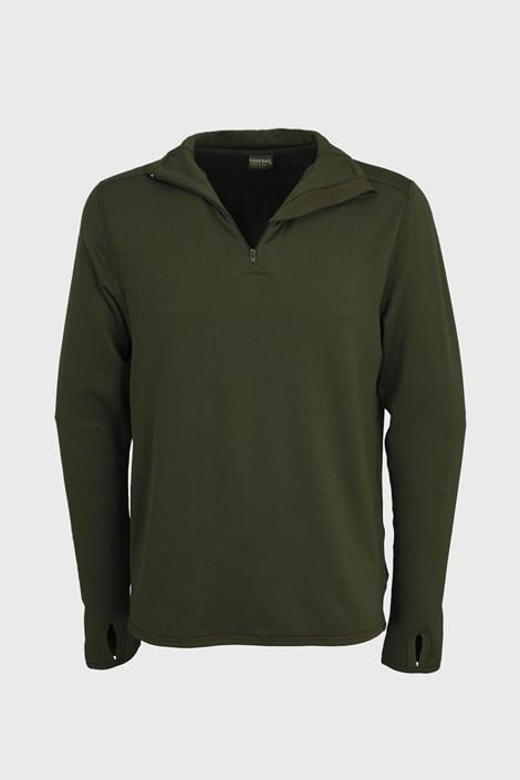 Fukcionalna majica Extreme Olive z dolgimi rokavi