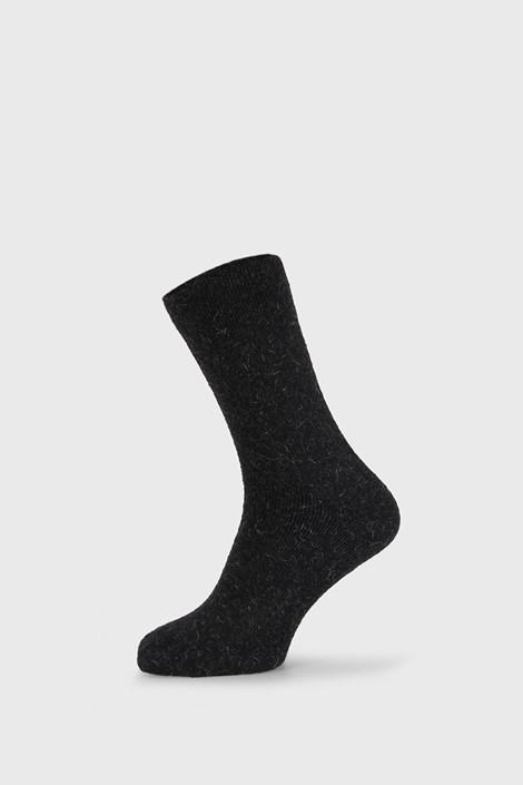 Črne nogavice Angora