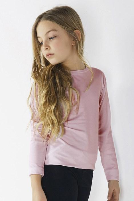 Dekliška majica z dolgimi rokavi Star