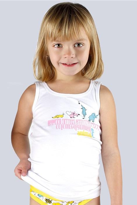 Dekliška spodnja majica bombažna
