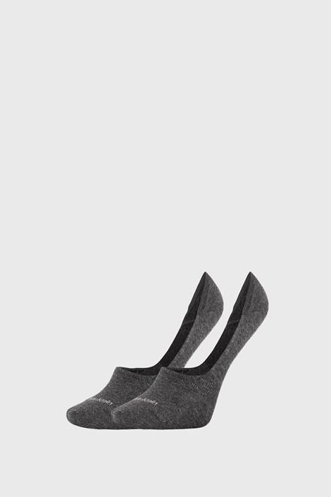 2 PACK sive ženske nogavice Calvin Klein Jessica