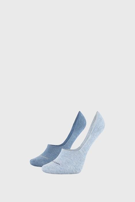 2 PACK modre ženske nogavice Calvin Klein Jessica
