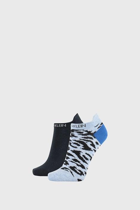 2 PACK modre ženske nogavice Calvin Klein Libby
